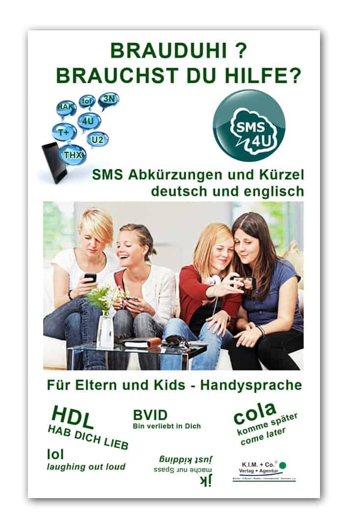 Brauduhi SMS Küzel und Abkürzungen - Buch-Coverbild